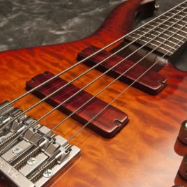 Neptune V – 5 string electric bass with passive pickups